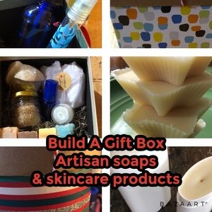 Build A Gift Box. Artisan soap & skincare products